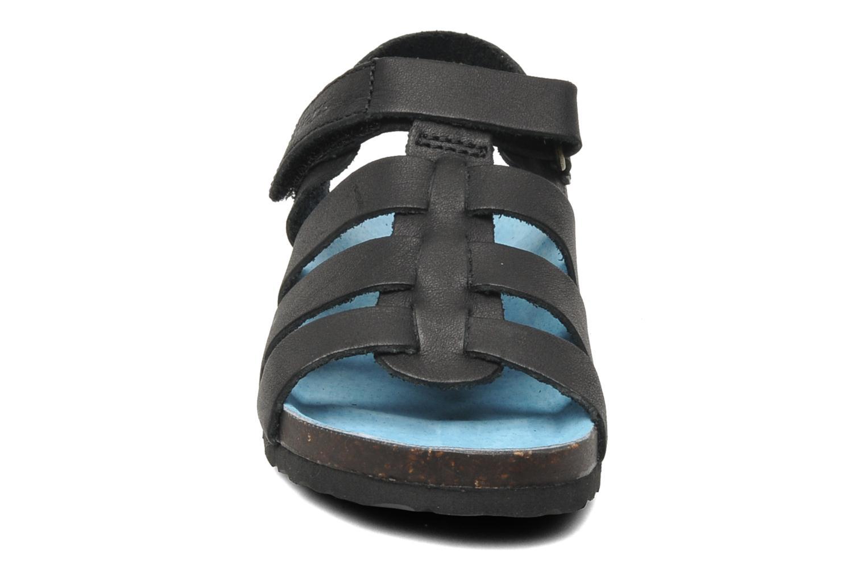 Sandalen Kickers MAGINO schwarz schuhe getragen