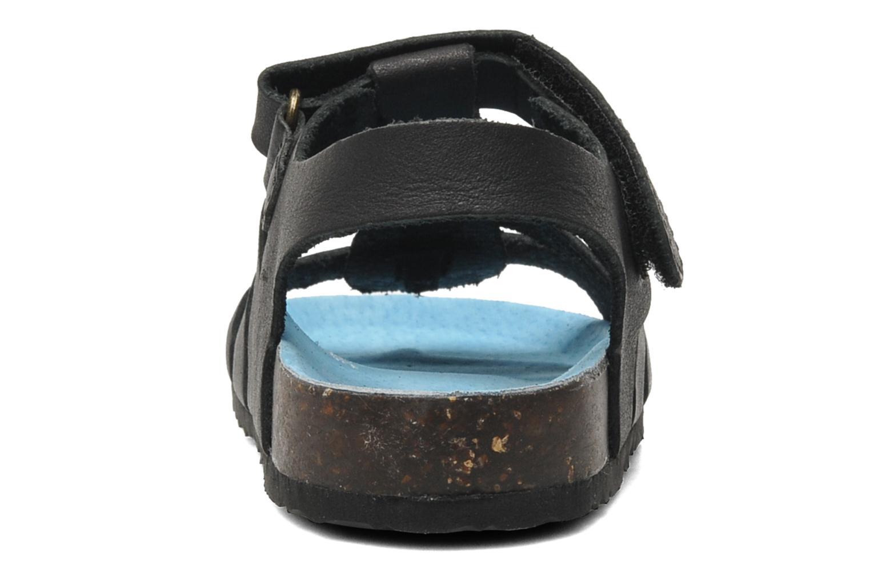 Sandalen Kickers MAGINO schwarz ansicht von rechts