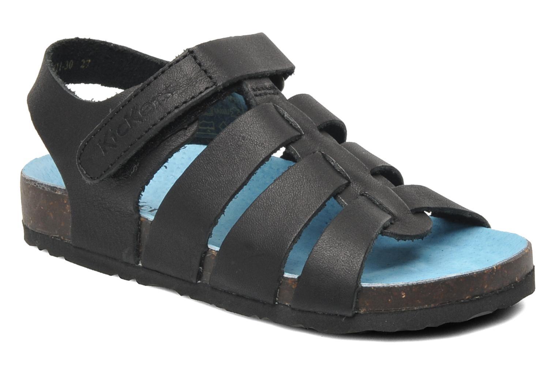 Sandalen Kickers MAGINO schwarz detaillierte ansicht/modell