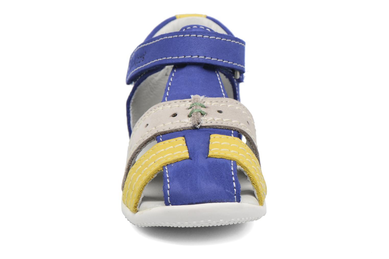 Sandalen Kickers BIGBAZAR blau schuhe getragen