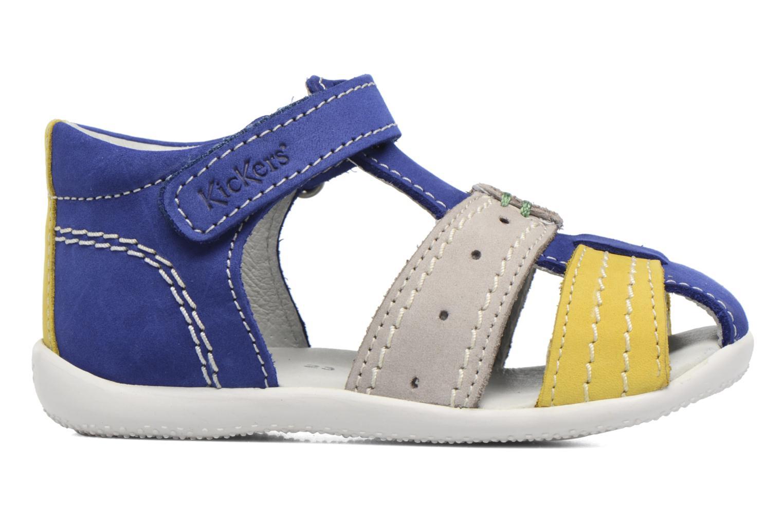 Sandalen Kickers BIGBAZAR blau ansicht von hinten