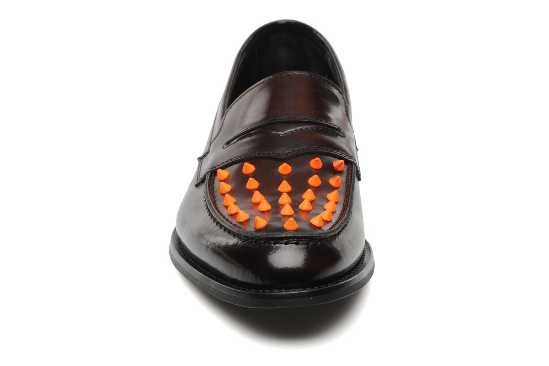 Mocassins KG By Kurt Geiger Jetson Marron vue portées chaussures