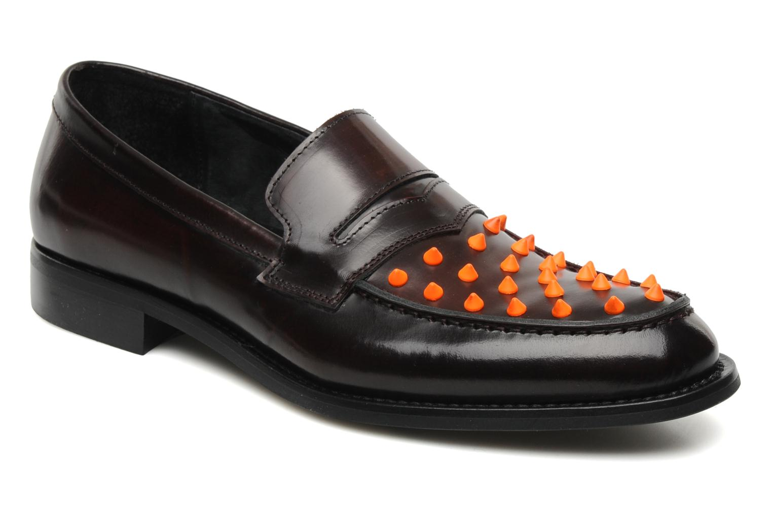 Jetson Brown leather