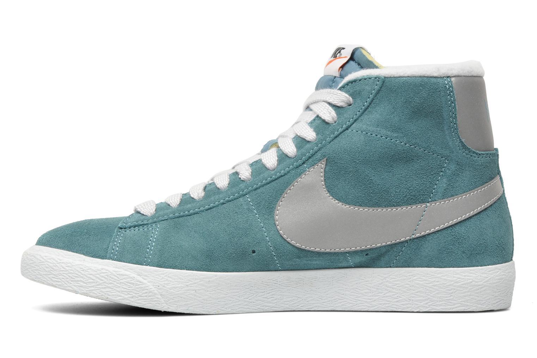 Nike Blazer Mediados Prm De Gamuza Azul De La Vendimia hMqfkaoZyz