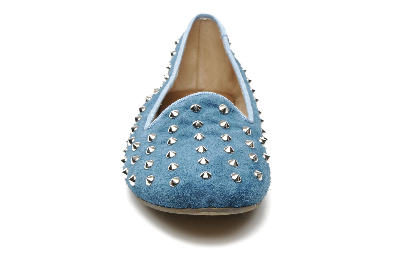 Mocassins Méliné Mirwais Bleu vue portées chaussures