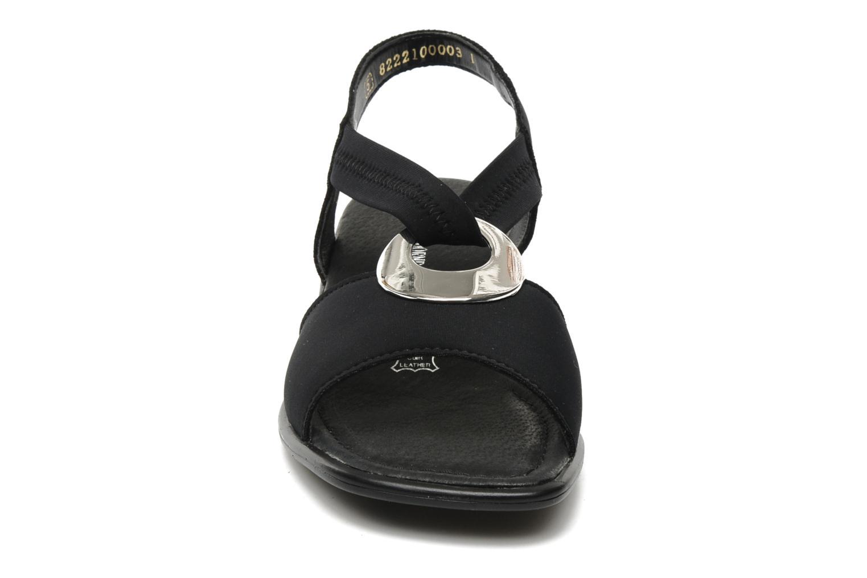 Sandales et nu-pieds Remonte Lilli R5953 Noir vue portées chaussures