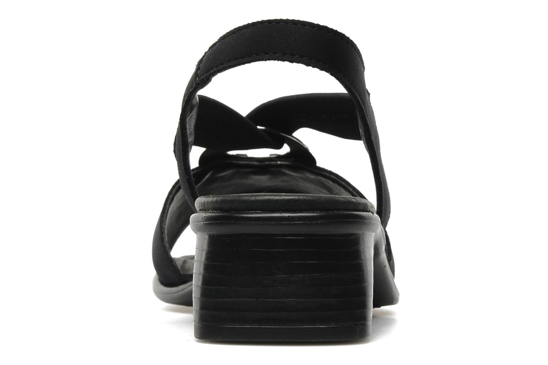 Sandales et nu-pieds Remonte Lilli R5953 Noir vue droite