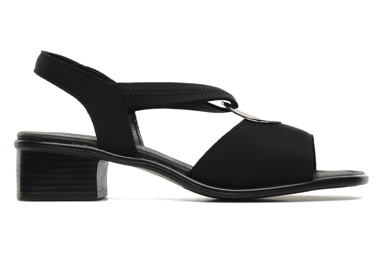 Sandales et nu-pieds Remonte Lilli R5953 Noir vue derrière