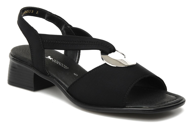 Sandales et nu-pieds Remonte Lilli R5953 Noir vue détail/paire