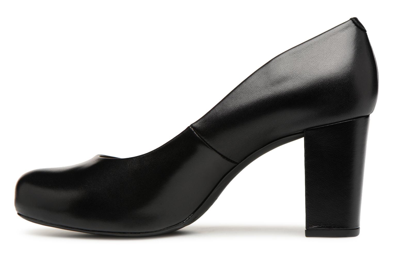 Zapatos de tacón Unisa Numis Negro vista de frente