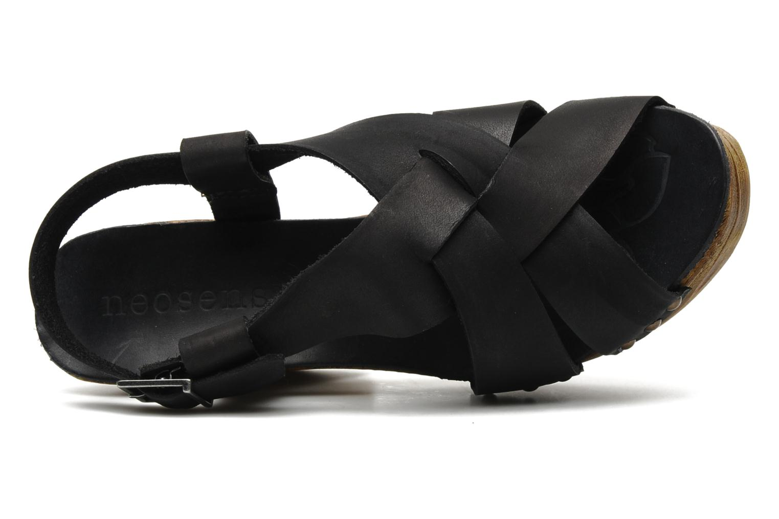 Sandals Neosens Carina 171 Black view from the left
