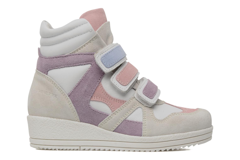Sneaker Ninette en fleurs 7010 weiß ansicht von hinten