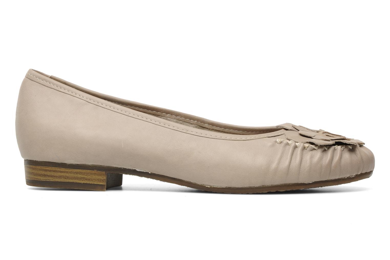 Ballerines Jana shoes LEMANE Beige vue derrière