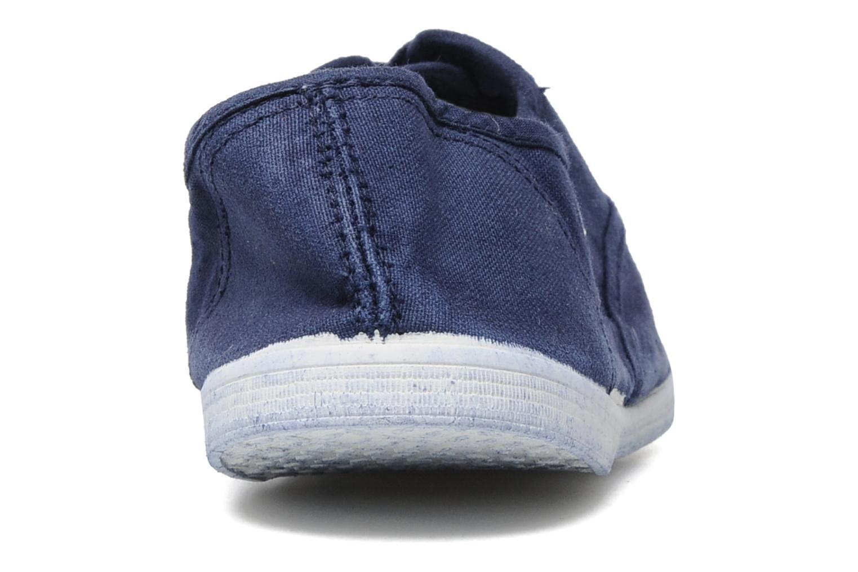 Baskets Kaporal Vicky Bleu vue droite