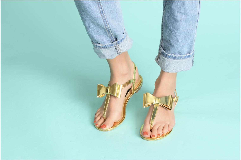 Sandales et nu-pieds I Love Shoes Pholala Beige vue bas / vue portée sac