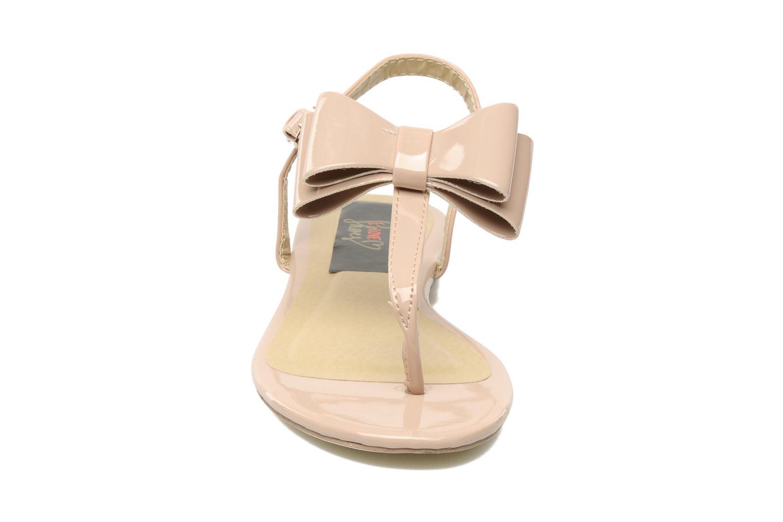 Sandales et nu-pieds I Love Shoes Pholala Beige vue portées chaussures