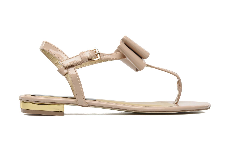 Sandales et nu-pieds I Love Shoes Pholala Beige vue derrière