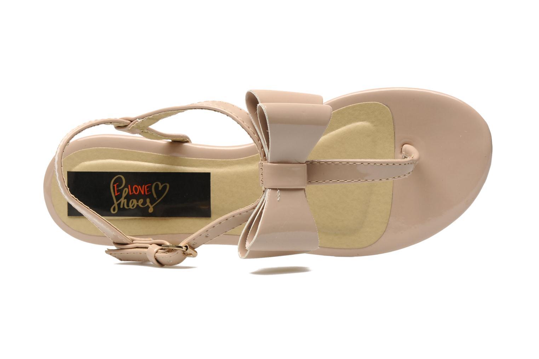 Sandales et nu-pieds I Love Shoes Pholala Beige vue gauche