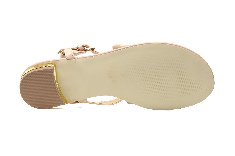 Sandales et nu-pieds I Love Shoes Pholala Beige vue haut