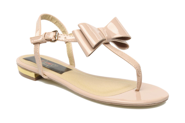 Sandales et nu-pieds I Love Shoes Pholala Beige vue détail/paire