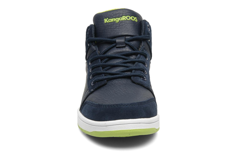 Sneaker Kangaroos Skye blau schuhe getragen