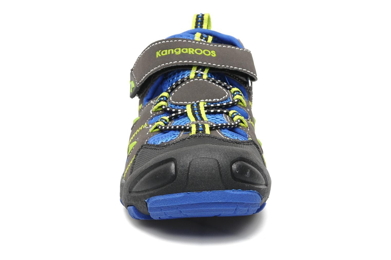 Baskets Kangaroos Beni Bleu vue portées chaussures