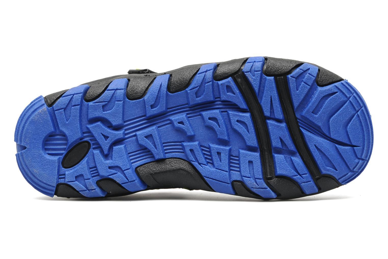 Baskets Kangaroos Beni Bleu vue haut