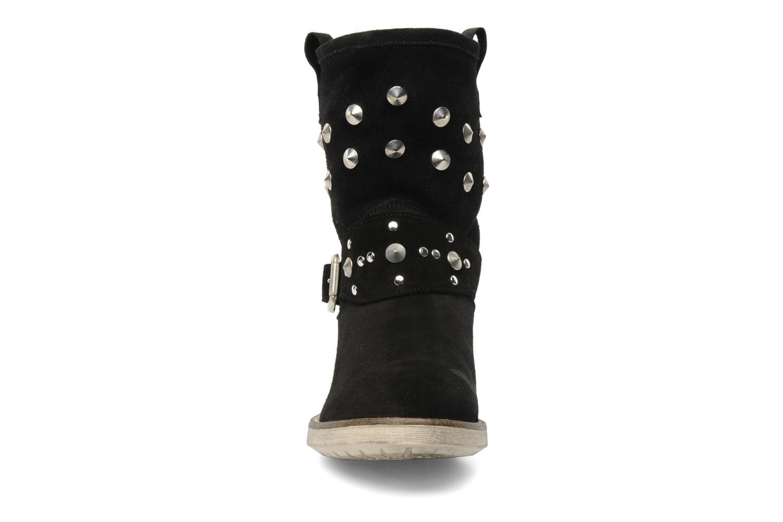 Bottines et boots Méliné Mulaby Noir vue portées chaussures