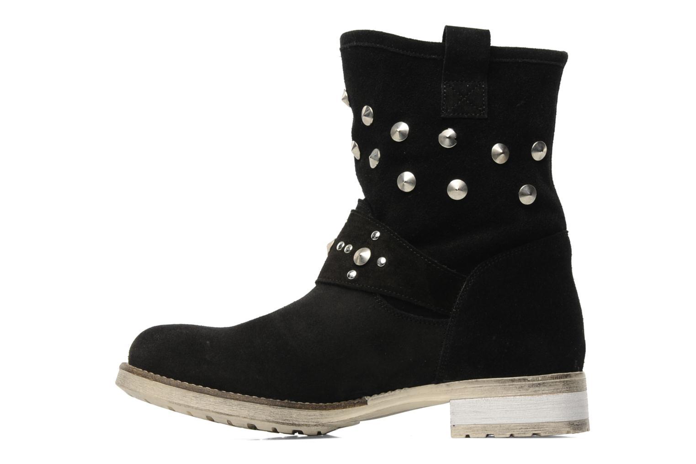 Boots en enkellaarsjes Méliné Mulaby Zwart voorkant
