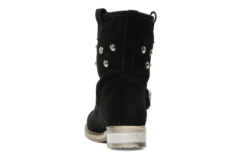 Bottines et boots Méliné Mulaby Noir vue droite