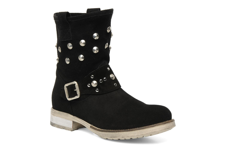 Boots en enkellaarsjes Méliné Mulaby Zwart detail