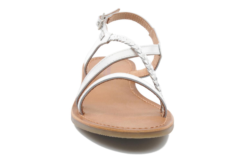 Sandalen Les Tropéziennes par M Belarbi Hanano weiß schuhe getragen