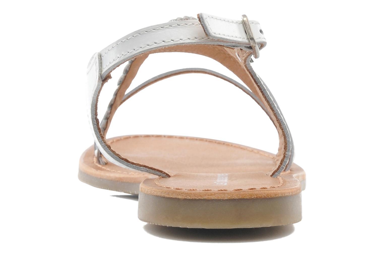 Sandalen Les Tropéziennes par M Belarbi Hanano weiß ansicht von rechts