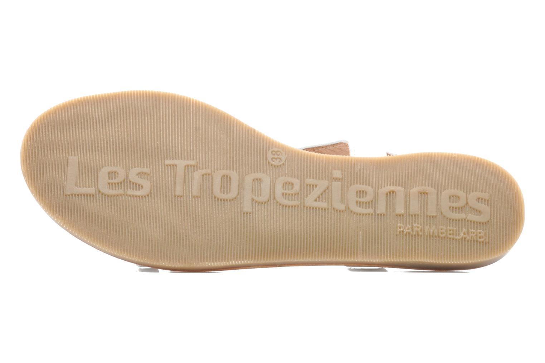 Sandalen Les Tropéziennes par M Belarbi Hanano weiß ansicht von oben