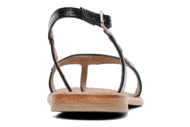 Sandalen Les Tropéziennes par M Belarbi Isatis schwarz ansicht von rechts