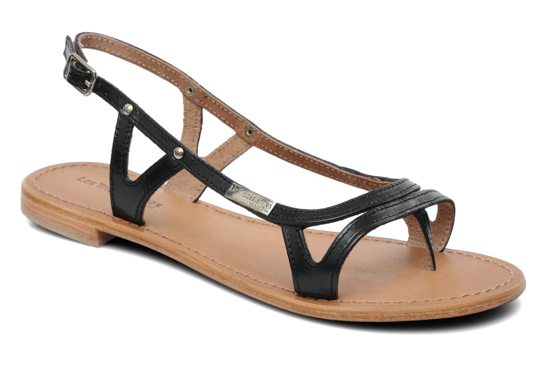Los últimos zapatos de hombre y mujer Les Tropéziennes par M Belarbi Isatis (Negro) - Sandalias en Más cómodo