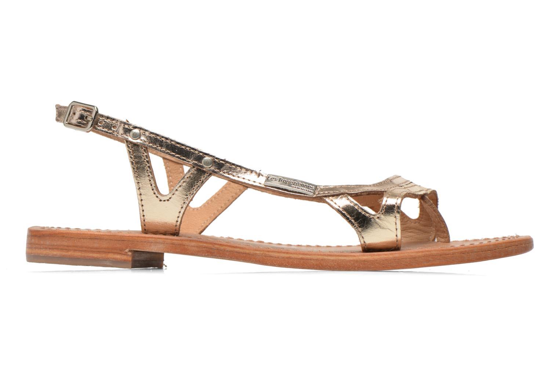 Sandales et nu-pieds Les Tropéziennes par M Belarbi Isatis Or et bronze vue derrière