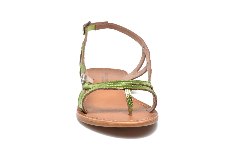 Sandalen Les Tropéziennes par M Belarbi Isatis grün schuhe getragen