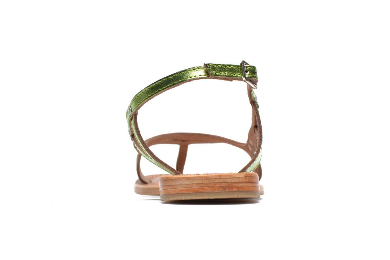 Sandales et nu-pieds Les Tropéziennes par M Belarbi Isatis Vert vue droite