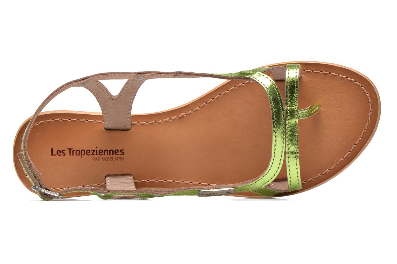 Sandales et nu-pieds Les Tropéziennes par M Belarbi Isatis Vert vue gauche
