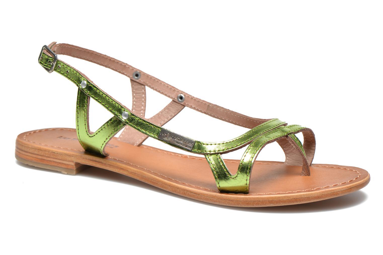 Sandales et nu-pieds Les Tropéziennes par M Belarbi Isatis Vert vue détail/paire