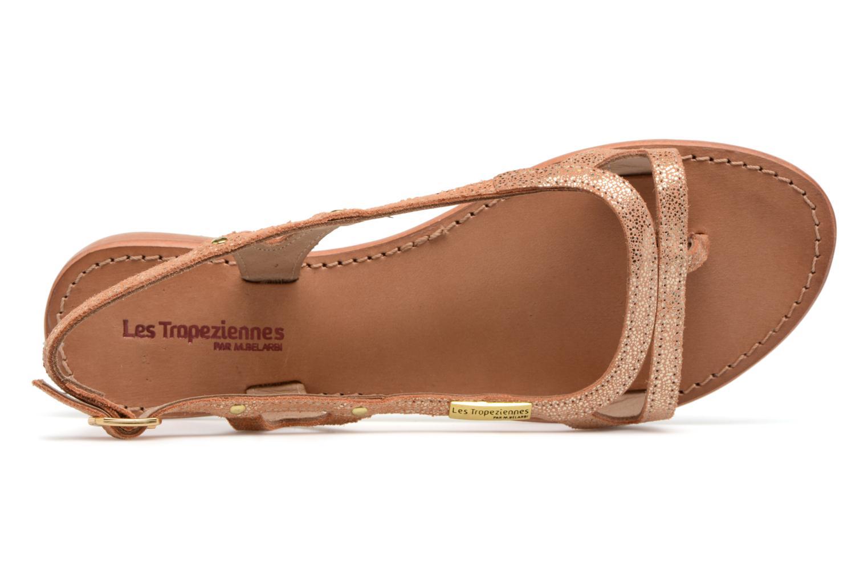 Sandales et nu-pieds Les Tropéziennes par M Belarbi Isatis Rose vue gauche