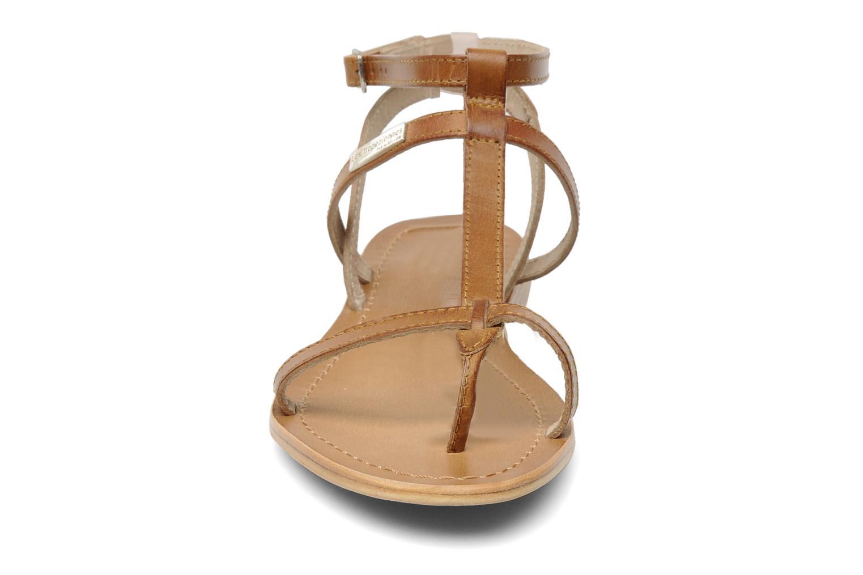 Sandali e scarpe aperte Les Tropéziennes par M Belarbi Hilan Marrone modello indossato