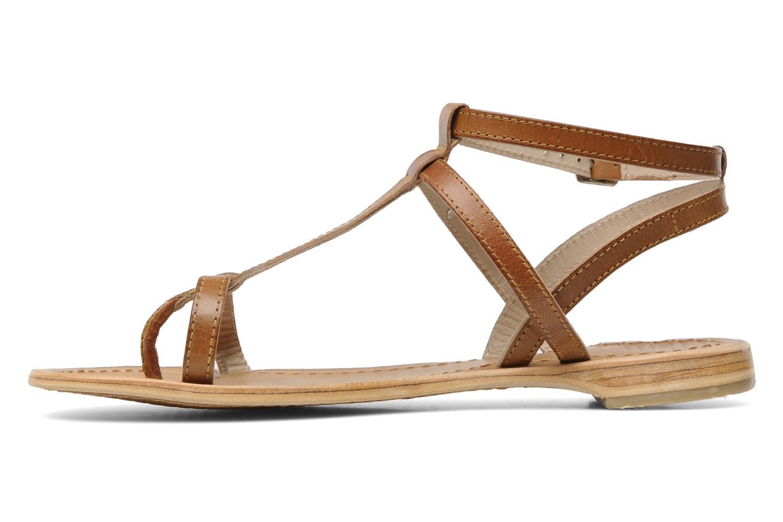 Sandals Les Tropéziennes par M Belarbi Hilan Brown front view