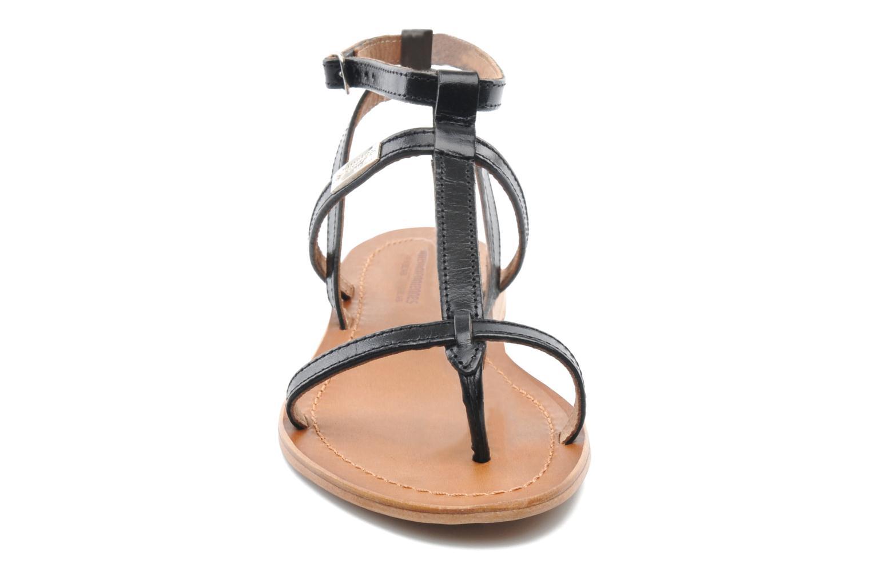 Sandalen Les Tropéziennes par M Belarbi Hilan schwarz schuhe getragen