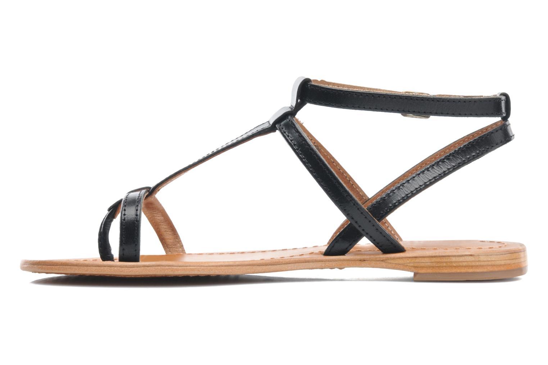 Sandalen Les Tropéziennes par M Belarbi Hilan schwarz ansicht von vorne