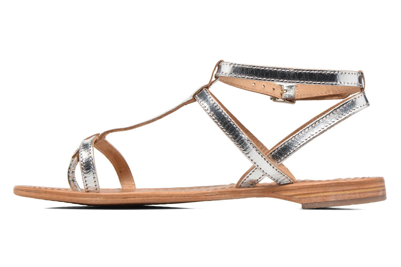 Sandali e scarpe aperte Les Tropéziennes par M Belarbi Hilan Argento immagine frontale