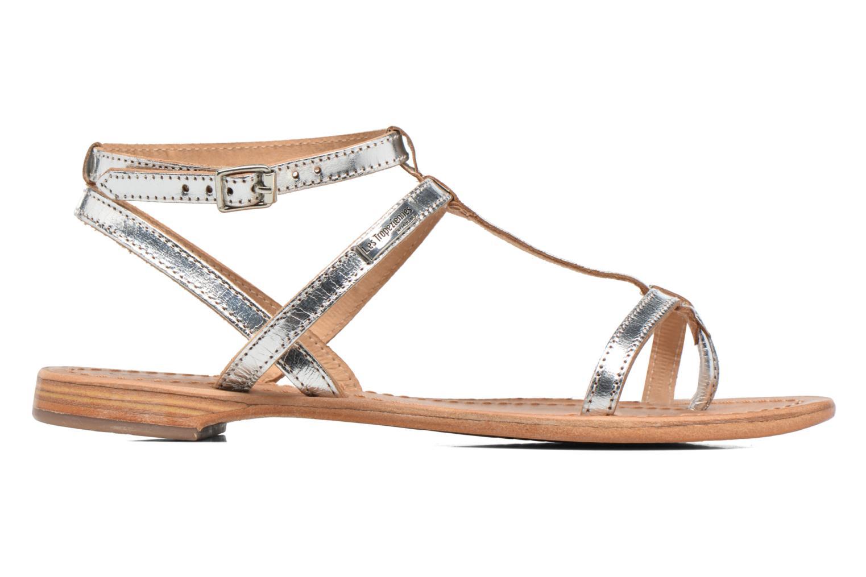 Sandalen Les Tropéziennes par M Belarbi Hilan silber ansicht von hinten