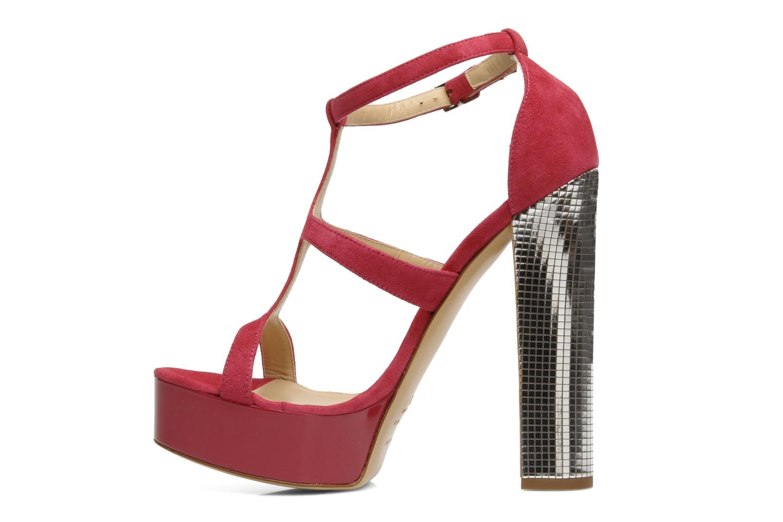 Sandali e scarpe aperte Vicini Trafacette Rosa immagine frontale