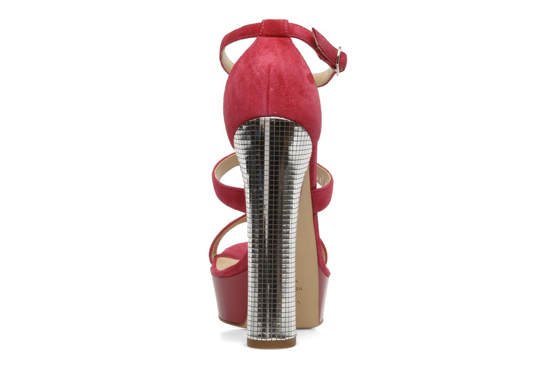 Sandali e scarpe aperte Vicini Trafacette Rosa immagine destra